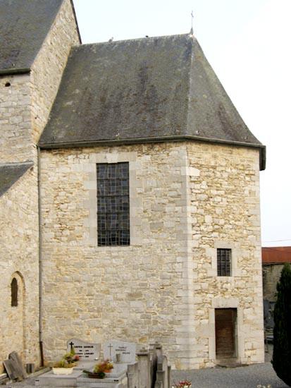 Eglise romane saint martin tohogne le choeur for Eglise romane exterieur
